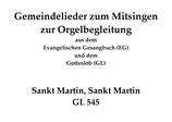 Sankt Martin, Sankt Martin GL 545