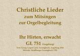 Ihr Hirten, erwacht GL 751 (Augsburg)