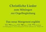 Das neue Morgenrot erglüht GL 793 (Bamberg) / GL 788 (Speyer) / GL 775 (Würzburg)