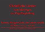 Komm, Heilger Geist, der Leben schafft EG 563 (Bayern/Thüringen)