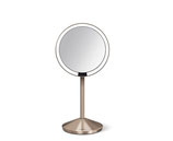 Simplehuman Kosmetikspiegel mit Sensor 12 cm rosegold ST3010
