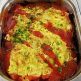 "Lasagne ""Bolognese"" mit Käse überbacken"