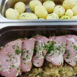 Kasselerbraten mit Sauerkraut