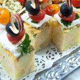 Spanische Tortilla mit Serano-Schinken