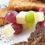 Käse-Trauben-Spieße