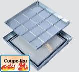 Heika-Ground Flame aluminium, coupe-feu 120 minutes