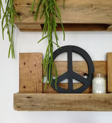 Holz Peace-Zeichen