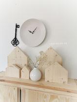 Natur Holz Häuser 5er Set