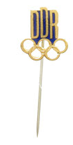 GDR (DDR) Olympic Society Pin