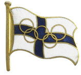 Helsinki 1952 Finnish  NOC Badge