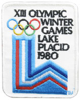 Lake Placid 1980 Logo Patch