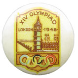 London 1948 Logo Badge