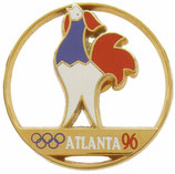 Atlanta 1996. French Team Badge