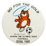 Seoul 1988 Soccer-Go for Gold Badge