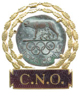 Rome 1960 NOC Badge