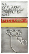 Innsbruck Press Radio TV-Badge