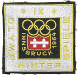 Innsbruck 1964 Visitor's Patch with official logo