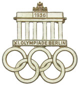 Berlin 1936 Official Visitor's Badge