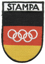 Rome 1960 German Press Patch