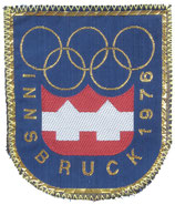 Innsbruck 1976 Logo Patch