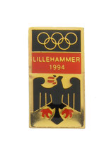 Lillehammer 1994 German Team Pin