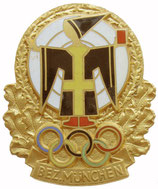 Munich 1972 Shooting Badge