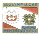 Innsbruck 1964 Small Team Badge