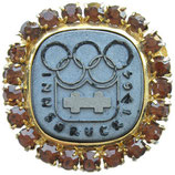 Innsbruck 1964 Commemorative Ladies Brooch, in box (cardboard)
