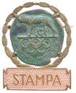 Rome 1960 Press Badge