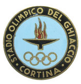 Cortina 1956  Ice-Stadium Badge
