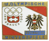 Innsbruck 1964Team Badge