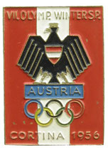 Cortina 1956 Team Badge