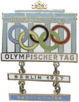 GDR Olympic Day 1967 Judge's Badge