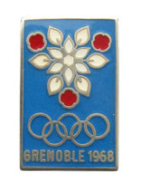 Grenoble 1968 Logo Pin