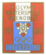 Grenoble 1968 Team Badge