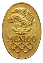 Mexico 1968 Commemorative Pin