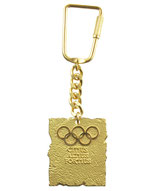 Commemorative Keyring, given by the IOC