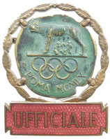 Rome 1960 Official's Badge
