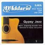 D'ADDARIO Gypsy Jazz Silver Wound (manouche)