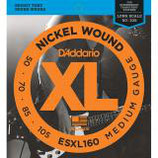 D'ADDARIO for Steinberger E-Bass Nickel Round Wound Set