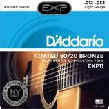 D'ADDARIO Coated 80/20 Bronze
