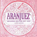ARANJUEZ Flamenco Spanish Silver Set Light Tension