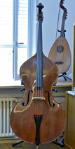 Kontrabass 3/4 (Mensur 1045mm) made in Hungary 2015, inkl. Tasche