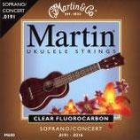 MARTIN Ukulele Soprano/Concert , Clear Fluorocarbon .0191 - .0220