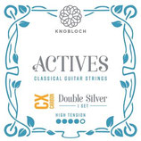 KNOBLOCH ACTIVES Double Silver CX Carbon, Treble Single String