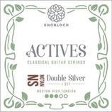 KNOBLOCH ACTIVES Double Silver SN NYLON Satz