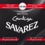 SAVAREZ NEW CRYSTAL / Cantiga silver polished basses