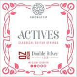 KNOBLOCH ACTIVES Double Silver QZ NYLON Satz