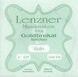 Lenzner Violine Goldbrokat E1