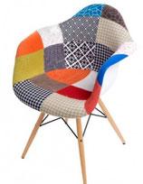 Krzesło P018 inspirowane DAW PatchWork